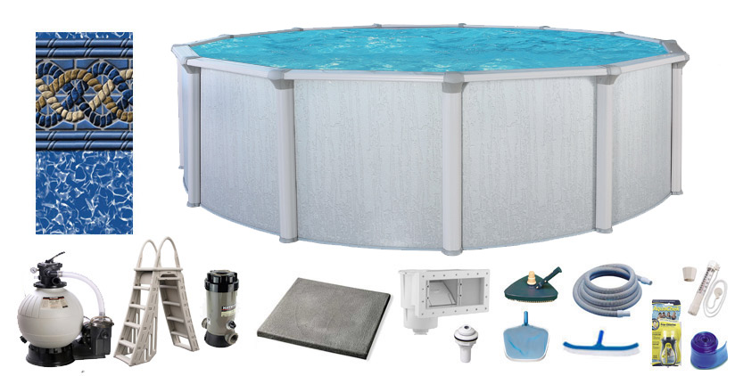Seagrass Chlorine Pool Kit – Above Ground Pros